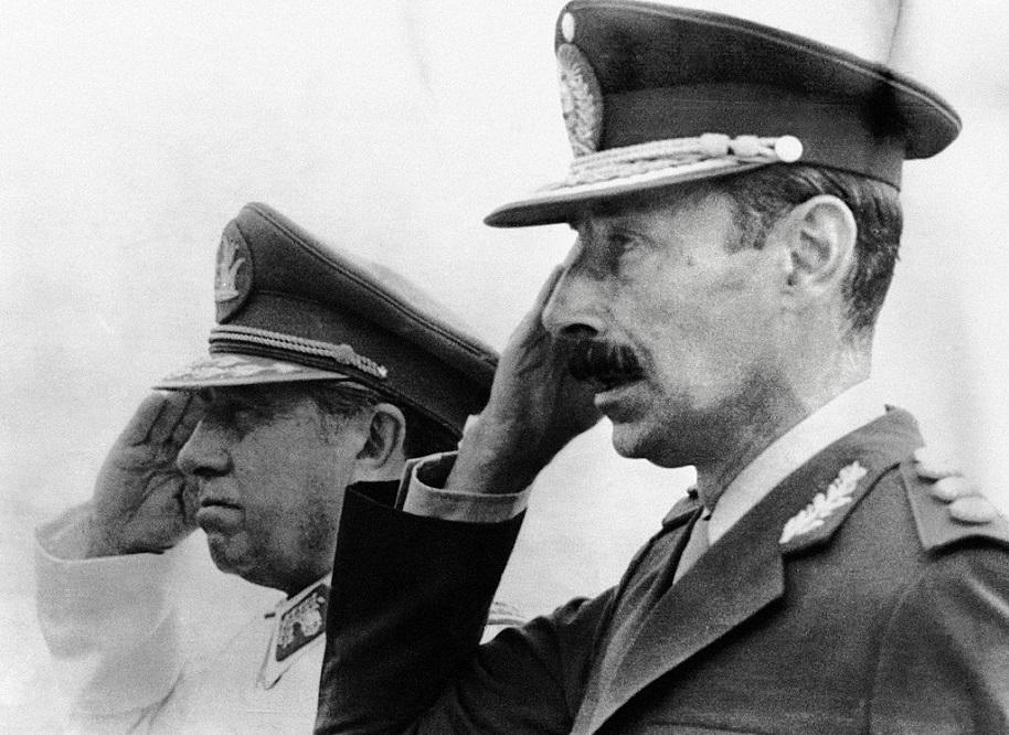 Pinochet y Videla