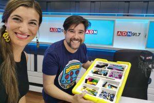 Pablo Torres conversó sobre la robótica para niños y la First Lego League