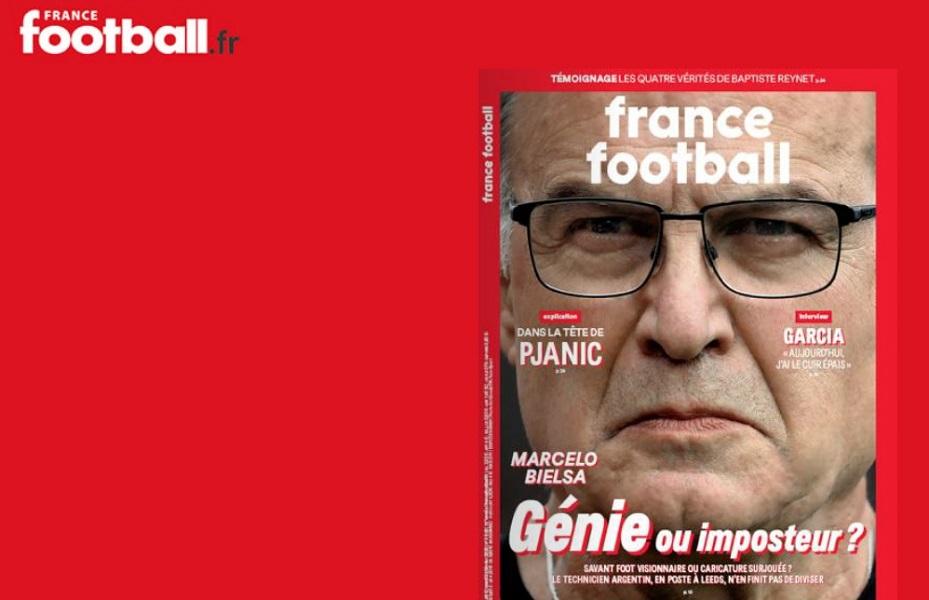 La portada de la revista France Football