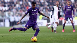 Fiorentina empató con el Milan con gol de Pulgar por la Serie A