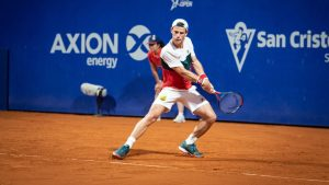 Tenista argentino Diego Schwartzman es la primera baja para el Chile Open por lesión