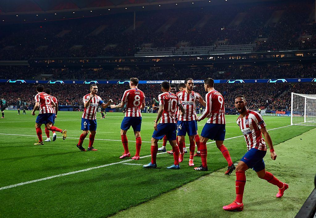 Atlético Madrid dio el primer golpe ante el Liverpool por los 8vos de final de la Champions
