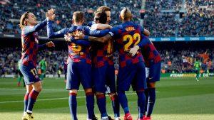 Arturo Vidal fue figura en la goleada del FC Barcelona y póker de Messi sobre el Eibar