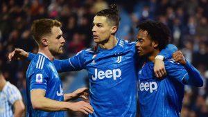 Juventus ganó al SPAL y le puso tarea al Inter de Milán en la Serie A