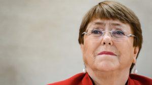 Bachelet: No dejemos a nuestra gente joven una tormenta de fuego incontrolable, de crisis de DD.HH.