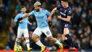 Manchester City le ganó al West Ham y se afianzó en el segundo lugar de la Premier League