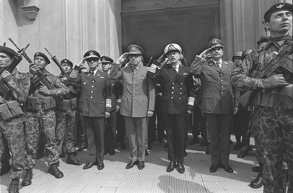 La junta militar de Chile