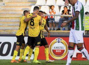 Guaraní venció a Palestino con diez jugadores en la Copa Libertadores 2020