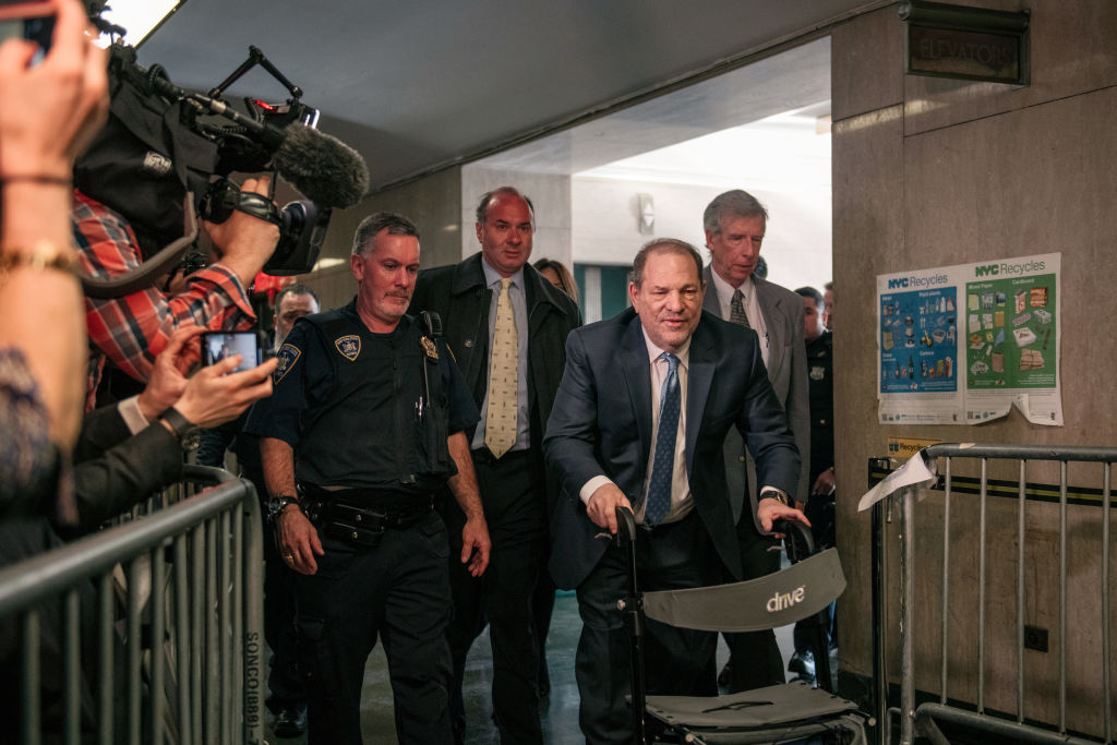 El condenado Harvey Weinstein