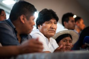 """Evo Morales aseguró que """"no está garantizada una elección transparente"""" en Bolivia"""