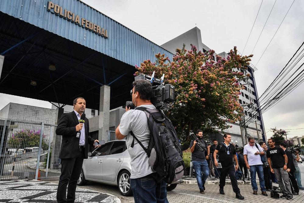 Sede de la Policía Federal en Sao Paulo