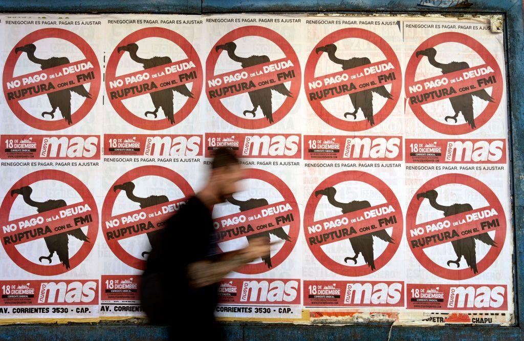Protestas contra el FMI en Argentina