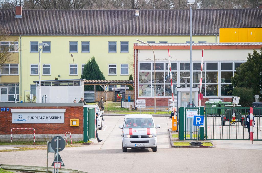 El ciclo de cuarentena de pasajeros en Germersheim