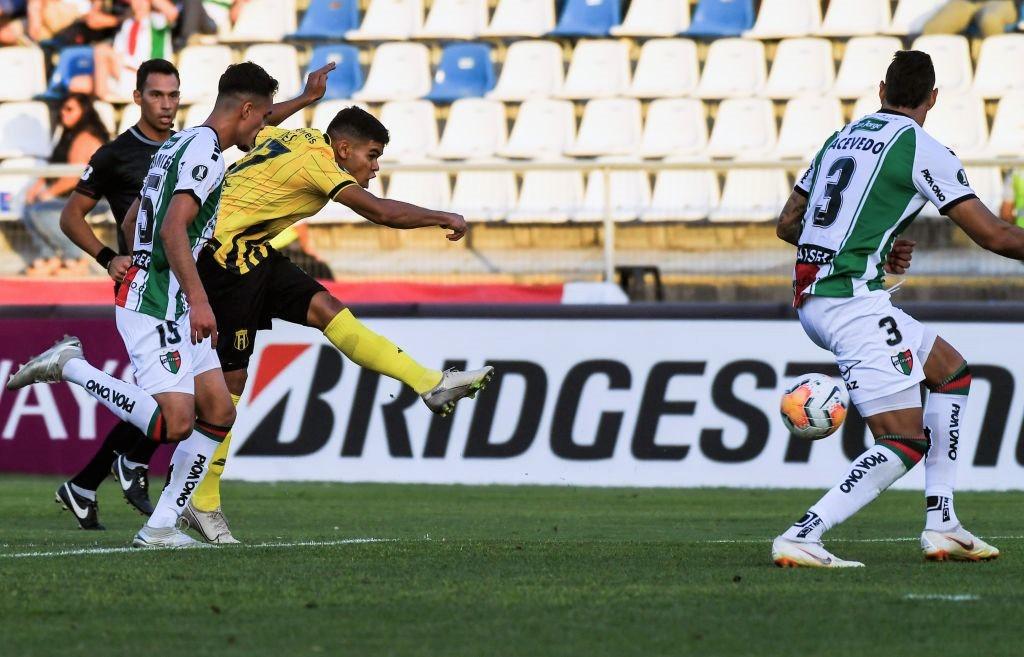 El gol de Rodney Redes contra Palestino
