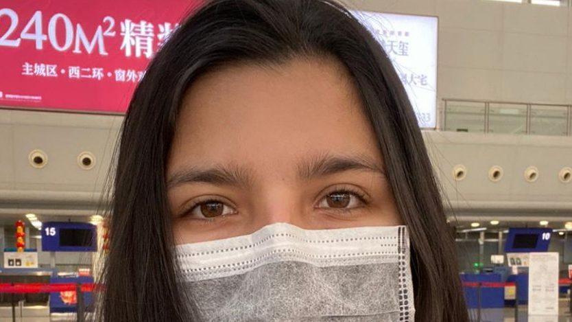 Chilena que estuvo en China: Le dije a mi familia que si sentía algo, no iba a volver