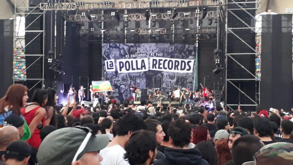 Concierto de La Polla Records fue suspendido por invasión de fans al escenario