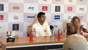 """Cristian Garin prepara su debut para el ATP de Santiago: """"Llego en un muy buen momento"""""""