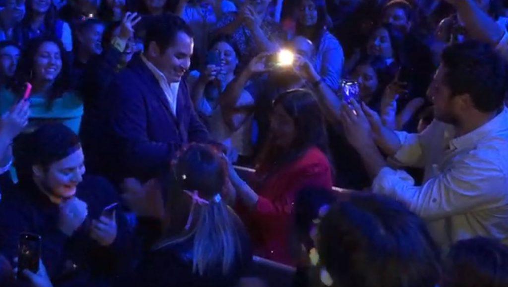 La romántica propuesta de matrimonio que se vivió en el show de Pablo Alborán en Viña 2020