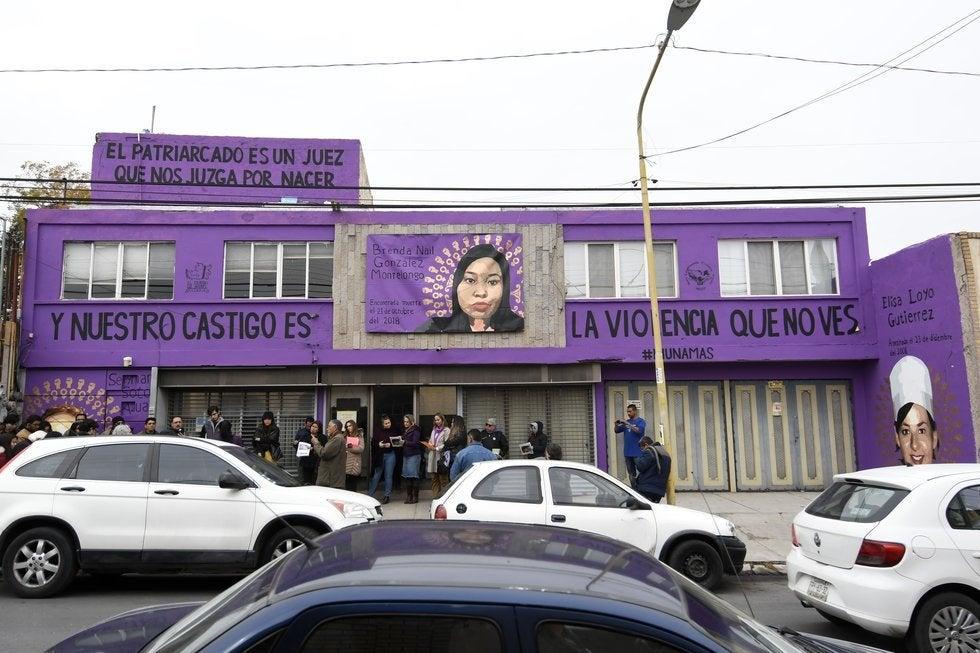 Mural feminista inspirado en LasTesis es sancionado por municipio en México