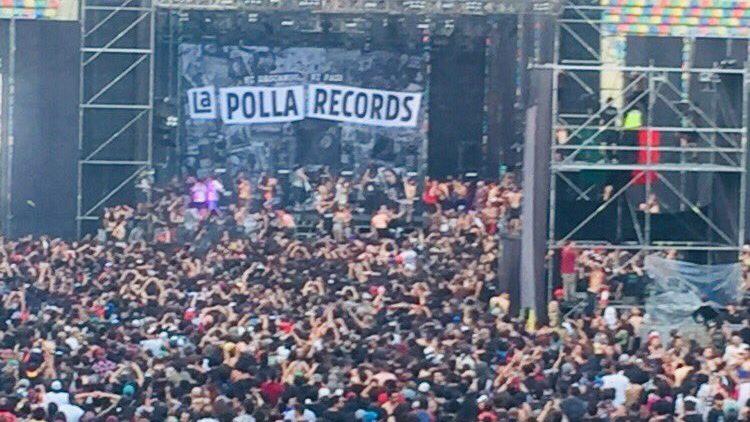 """Productora de show de La Polla Records abrió puertas para evitar accidentes por """"avalanchas"""""""