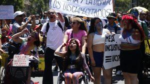"""""""Dejen de escondernos debajo de la alfombra"""": Colectivo Nacional por la Discapacidad exige cupos en redacción de nueva constitución"""