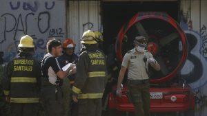 Encuentran cuerpo calcinado en amago de incendio que afectó al Café Literario de Providencia