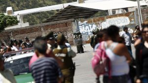 Reportan fuego en torres de la cárcel de Puente Alto