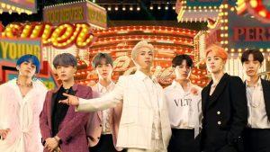 BTS revolucionó las redes sociales con su presentación en el HomeFest de The Late Late Show