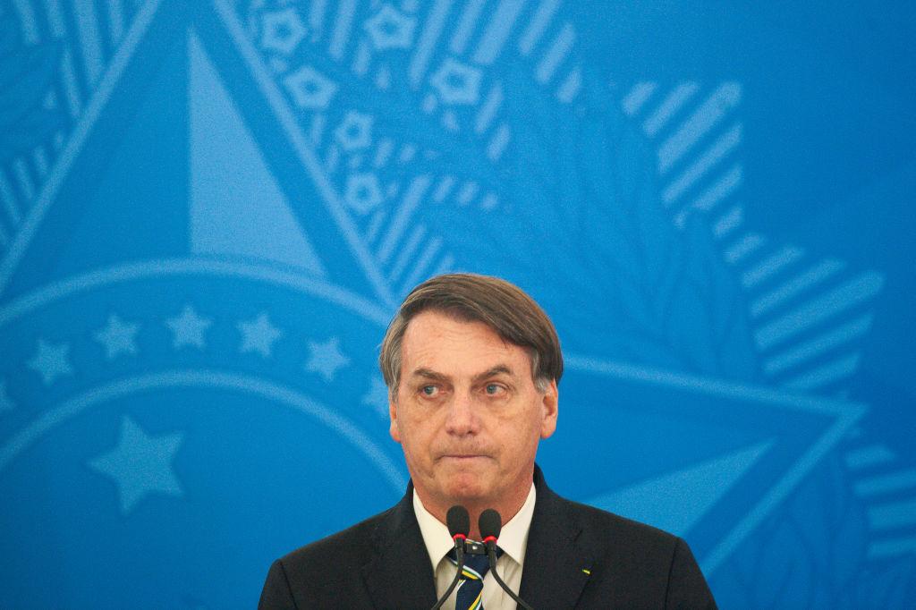 El ultraderechista Jair Bolsonaro