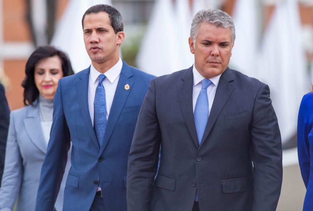 El gobernante colombiano Iván Duque
