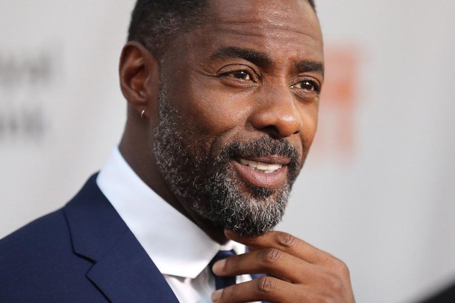 Idris Elba. Destacado actor de Hollywood.