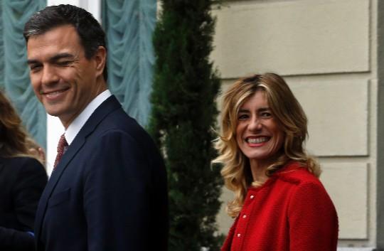 María Begoña Gómez. Esposa de Pedro Sánchez, presidente de España.