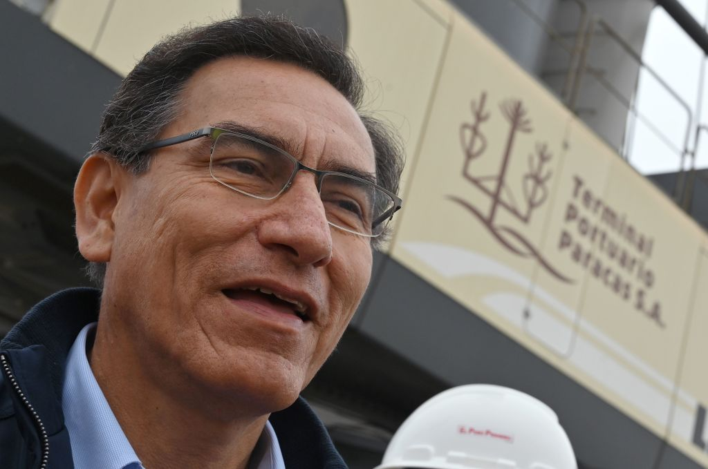 El presidente peruano Martín Vizcarra