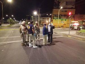 Militares detuvieron con disparos a hombre que quiso evadir control en toque de queda