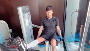 FOTOS | ¡Con todo! Nicolás Castillo publicó su vuelta a los entrenamientos