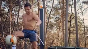 VIDEO | Alexis Sánchez aprovecha la cuarentena para entrenar al máximo