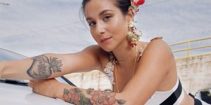 """Denise Rosenthal estrenó versión en casa de """"Tiene Sabor"""" con su banda de mujeres"""