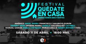 """Llega """"Quédate en Casa"""", el festival por streaming para tomar conciencia sobre la crisis del Covid-19"""