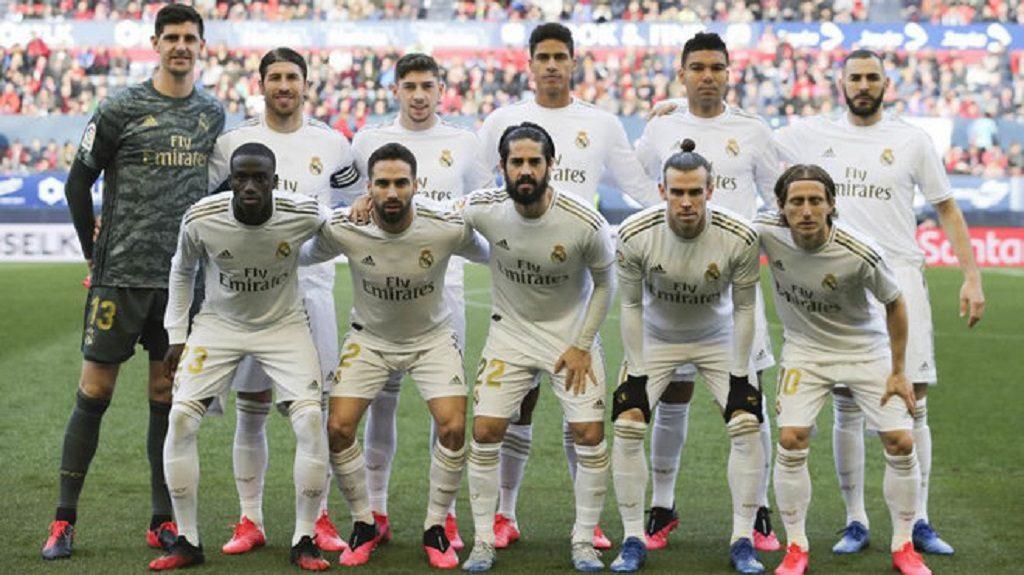 Real Madrid acordó rebajarle el 10% a su plantel debido al coronavirus