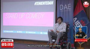 """""""1312"""": El gesto de """"Teniente Dan"""" al movimiento social en plena Teletón 2020"""