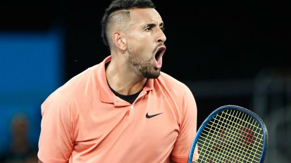 Kyrgios vuelve a armar polémica: se considera mejor que Sampras, Agassi y Borg, tres leyendas del tenis