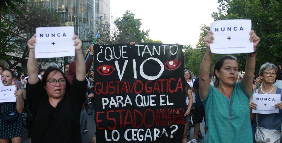 Revelan imágenes inéditas del día en que fue Gustavo Gatica fue herido