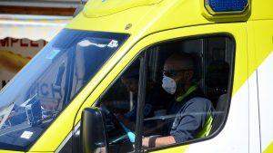 Ambulancia que trasladaba muestras de pacientes con Covid-19 fue atacada en Región de Antofagasta