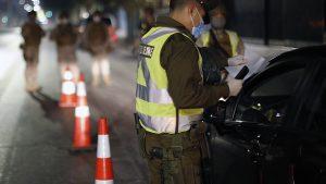 Aumentaron los conducidos en el toque de queda y los permisos temporales entregados