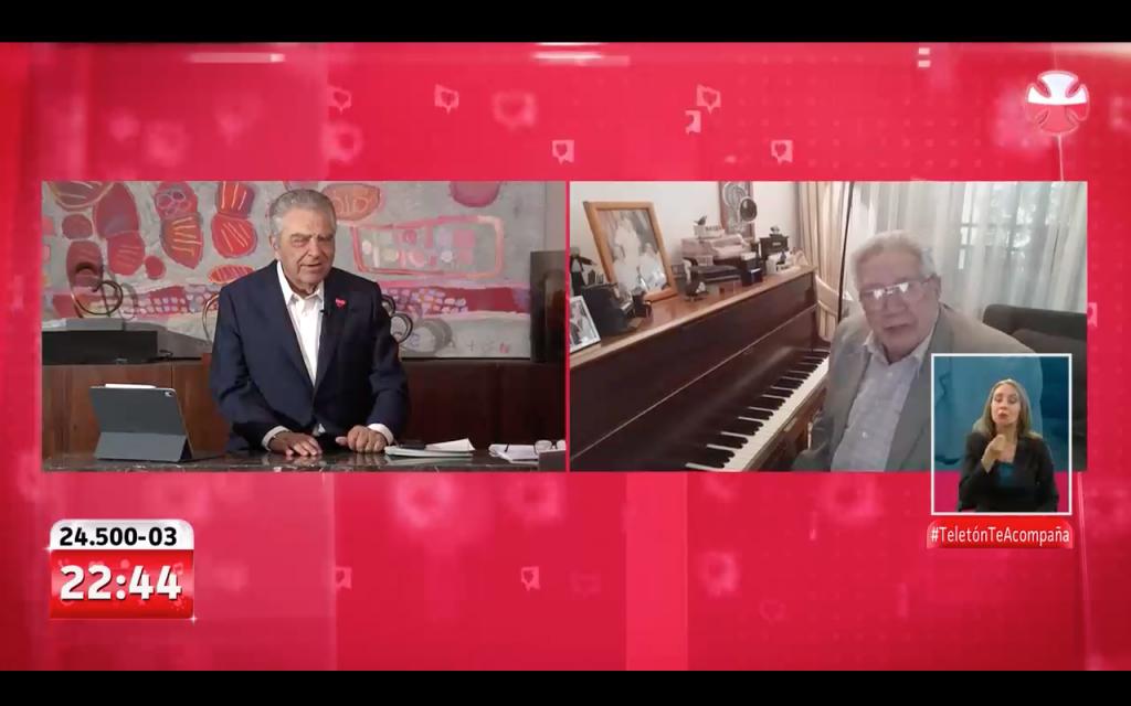 Don Francisco se emocionó con video de Valentín Trujillo para apoyar la Teletón