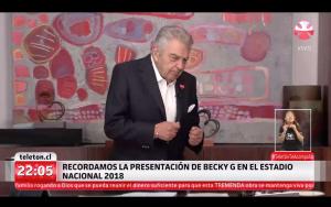 """Don Francisco bailó al ritmo de """"Mayores"""" de Becky G en la Teletón 2020"""