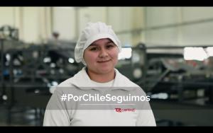 Carozzi realizó emotiva campaña para agradecer a sus trabajadores y garantizar abastecimiento de sus productos