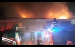 Incendio en Penco destruyó seis viviendas y puso en riesgo a colegio