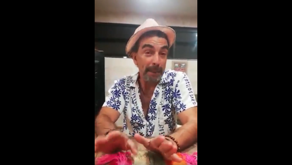 Jorge Alís lanza video sobre vecinos en cuarentena