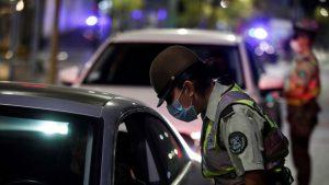 Reporte de Carabineros informó importante baja en la cantidad de detenidos en las últimas horas